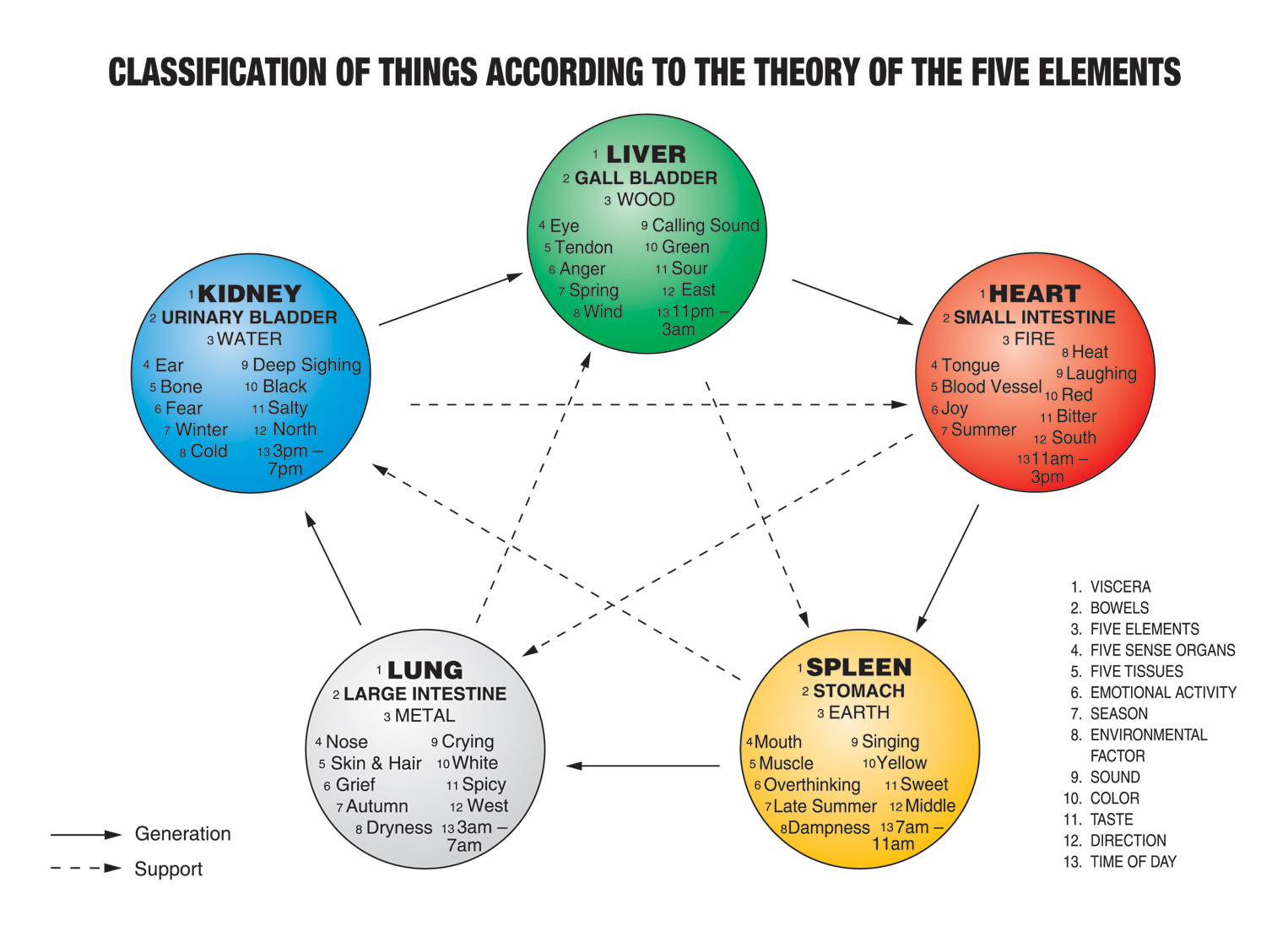 Five Element Framework | TCM World