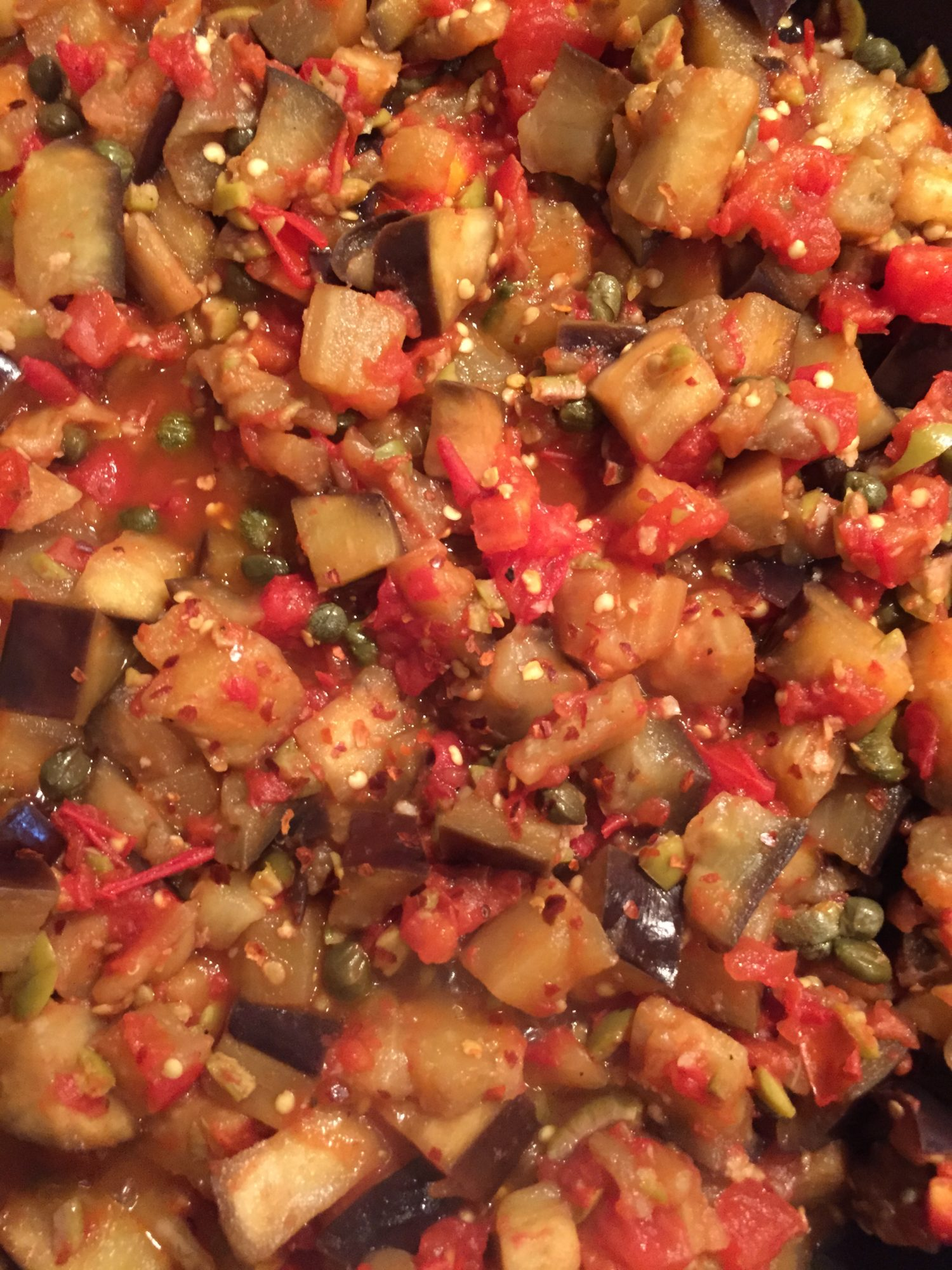 Eggplant and healthy Liver