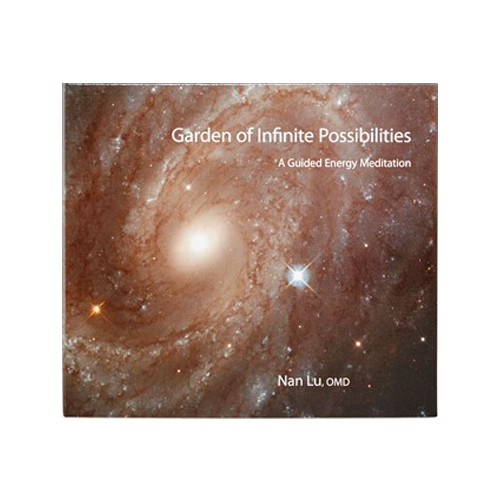 Garden of Infinite Possibilities: Guided Energy Meditation & Piano Music CD